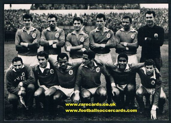 1965 Eusebio Benfica press pc CZECH